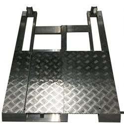 Crowd Barrier Gate Cable Tray