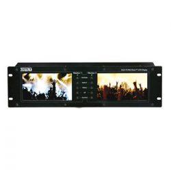DMT DLD-72 MKII Dual 7″ Rack Monitor
