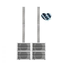 HK Audio Elements Smart Base System + 2 x E110 AS Subs and 2 x E835 Mid High (White)