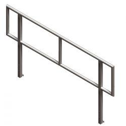 Lightspace / LiteDeck 8ft Open Handrail