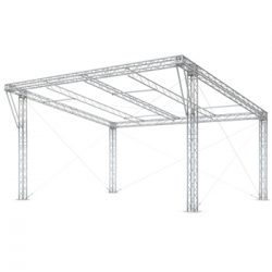 Milos MR0 Covered Roof 8m x 6m Sloping Roof