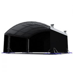 Milos MR1T 8m x 6m Self Climbing Arc Roof (Structure only)