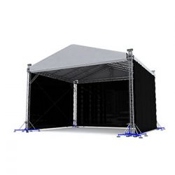 Milos MR2 Self Climbing Covered Roof 12m x 8m Pitched Roof