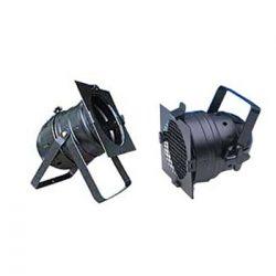 PAR56 Short Can Black 300W Medium Flood w / Frame