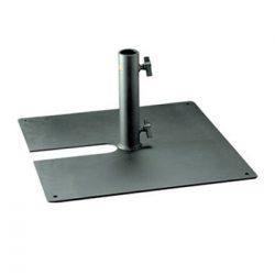 Steel Scaffold Upright Base / Tank Trap