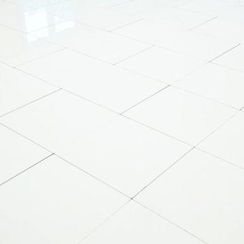 Dance Floors Plain White Gloss