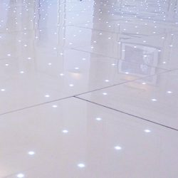 White LED Starlight Dance Floors