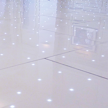 Dance Floors White LED Starlight